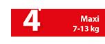 Babylino Pants Unisex 7-13 kg Nr. 4 - Ribon Image