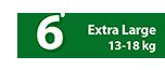 Pannolini mutandina 13-18 Kg Taglia 6 - Ribon Image