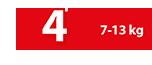 Πάνα Βρακάκι 7-13 kg No4 - Ribon Image