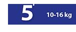 Πάνα Βρακάκι 10-16 kg No5 - Ribon Image