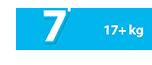 Πάνα Βρακάκι 17+ kg No7 - Ribon Image