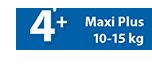 Maxi Plus 10-15 kg No4+ - Ribon Image