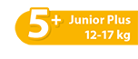 Junior Plus 12-17 kg No5+ - Ribon Image