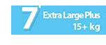 Extra Large Plus 15+ kg No7 - Ribon Image