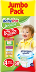 Babylino Pants Unisex 7-13 kg No4 - Available also in value pack