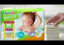 BABYLINO SENSITIVΕ. Πρώτη και τελευταία σκέψη μας η προστασία του μωρού σας! - Video