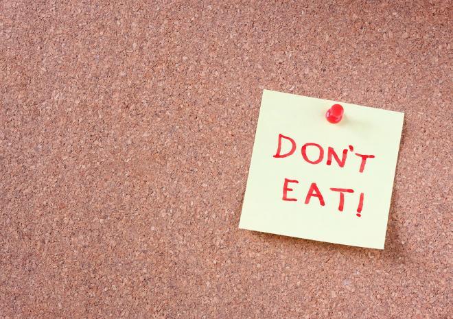 Τρόφιμα που πρέπει να αποφεύγετε