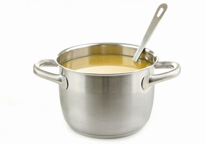 Τραχανάς με γάλα και φέτα